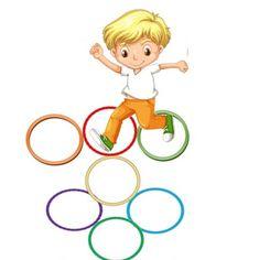 Δραστηριότητα για την αυλή για παιδιά τυπικής ανάπτυξης και άτομα με ειδικές εκπαιδευτικές ανάγκες.Αυτό το παιχνίδι στην αυλή λειτουργεί ως αφόρμηση για γενίκευση των χρωμάτων σε αντικείμενα καθημερινής χρήσης.