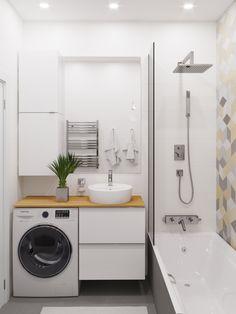 Laundry Room Bathroom, Relaxing Bathroom, Bathroom Layout, Small Bathroom Plans, Small Bathroom Renovations, Tiny Bathrooms, New Bathroom Designs, Bathroom Design Small, Apartment Interior Design
