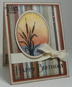 "By Angella Crockett. Uses stamps from ""With Heartfelt Sympathy"" by Our Daily Bread Designs."