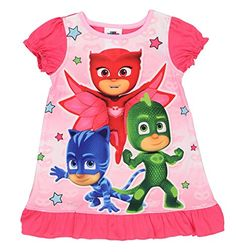 PJ Masks Girls Nightgown Pajamas 3T PJ Masks Pink *** Continue to the product at the image link-affiliate link. #Disneyfor Girls