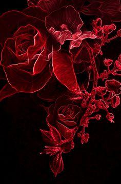 Digital Art - roses