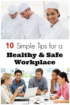 These are great tips for creating a healthy, respectful & safe workplace. So helpful for any workplace!