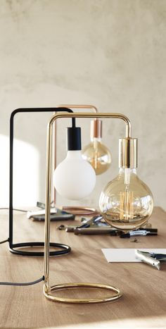 With a pared-back design and matte finish, the Celio Black Table Lamp introduces directional lighting to your home; Please note, the bulb is not included.