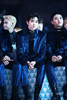 161119 at Melon Music Awards 2016 Baekhyun, Park Chanyeol, Chen, Kai, 5 Years With Exo, Exo Group, Exo Korean, Kim Junmyeon, Xiu Min