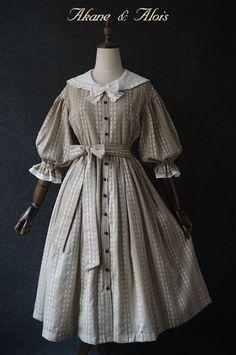 【现货】 「红发安」 水手领连衣裙-淘宝网