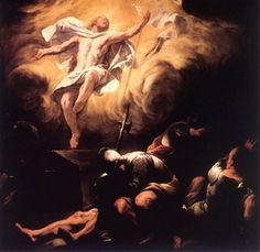 Luca Giordano, Resurrezione, dopo il 1665. Olio su tela, Residenzgalerie, Salzburg Il napoletano Luca Giordano – detto Luca Fa Presto per la velocità e copiosità della sua produzione artistica – ha ormai fatto proprio un intero secolo di sperimentazioni con luci dinamiche e composizioni drammatiche. Dopo Tiziano, ma anche il barocco dei chiaroscuri di Caravaggio e delle opere popolate di Rubens, Giordano può rappresentare una Resurrezione persino eccessiva – rococò – nell'opporre luci e…