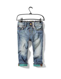 skinny jeans with turn-ups - Jeans - Baby boy (3-36 months) - Kids - ZARA Canada