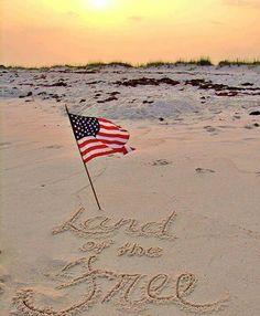 Fourth of July,  Beach life