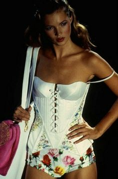 Kate Moss for Versace ~ 1995