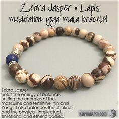 Zebra Jasper holds the energy of balance, uniting the energies of the masculine…