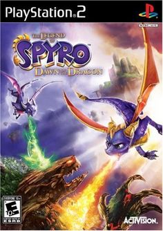 cool Legend of Spyro: Dawn of the Dragon – PlayStation 2 Three long years have passed since Spyro and Cynder were trapped in the crystal, since then Malefor has unleashed his evil onto the world. In this thi... http://gameclone.com.au/games/legend-of-spyro-dawn-of-the-dragon-playstation-2/