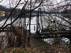 #Zugang zur verlassenen #Tretboot-Anlegestelle