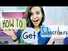 How To Get Subscribers & How To Be A Beauty Guru - YouTube