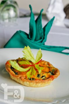 Creamed Spinach Plantain Tart