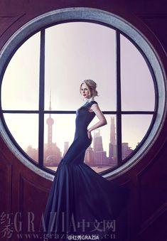 Celebrity & Fashion blog - Николь Кидман для Grazia China December 2014