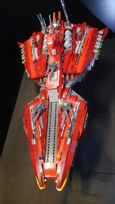 LEGO spaceship REWLOOLA from Gundam CCA.