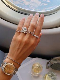 Cute Jewelry, Jewelry Accessories, Fashion Accessories, Ring Watch, Diamond Rings, Emerald Diamond, Piercings, Jewelery, Diamond Are A Girls Best Friend
