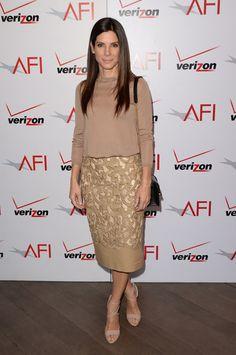 Sandra Bullock Pencil Skirt