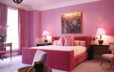 Tudo rosa!!! / Ambientes monocromáticos