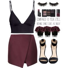Perfect going out outfit Night Out Outfit, Night Outfits, Summer Outfits, Casual Outfits, Cute Outfits, Bar Outfits, Vegas Outfits, Fashionable Outfits, School Outfits