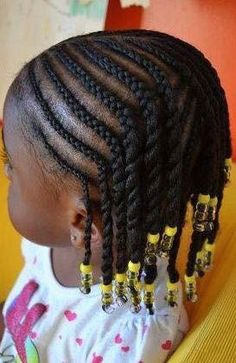 Black Kids Hairstyles Braids Cool Little Black Kids Braids Hairstyles Picture  Clem  Pinterest