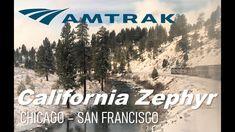 Taking Amtrak Sleeper Across the US! California Zephyr Complete Review