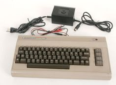 Vtg Commodore 64 PERSONAL COMPUTER Main Unit w Power Supply Extra Wiring - WORKS - http://electronics.goshoppins.com/vintage-computing/vtg-commodore-64-personal-computer-main-unit-w-power-supply-extra-wiring-works/