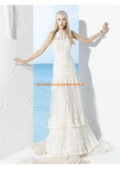 2013 Romantische Brautmode aus Spitze Kolumne