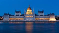 The Parliament Building (Országház), Budapest, Hungary