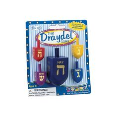 Rie-Lite Judaica Draydel Game. Enamel Wood Draydels Rite -Lite Judaica http://www.amazon.com/dp/B005IS57UC/ref=cm_sw_r_pi_dp_QmnFub16YE1MD