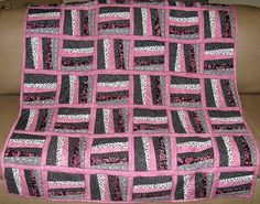 quilts rail fence | Rail Fence Quilt 3454075140_477044eb13_z