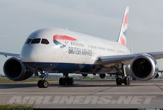 British Airways B787-8 Dreamliner G-ZBJF taxiing to 24L Toronto 19 June 2015 Mohammed Zaheer