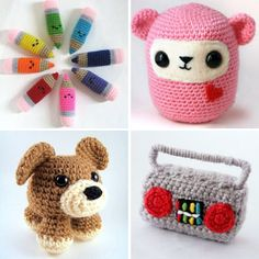 A website full of free amigurumi patterns | How About Orange