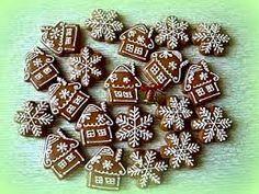 Cake Cookies, Gingerbread Cookies, Christmas Cookies, Christmas Wreaths, Christmas Ideas, Office Christmas Decorations, Christmas Sweets, Honey Cookies, Christmas Biscuits