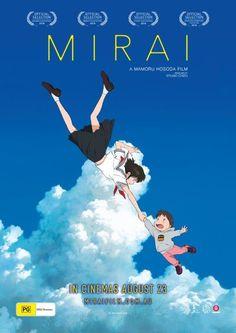 Mirai no Mirai poster, t-shirt, mouse pad Film Watch, Movies To Watch, Good Movies, Mamoru Hosoda, Anime Reccomendations, Anime Suggestions, Japanese Animated Movies, Night Film, Anime Watch