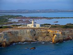 """Faro de Cabo Rojo - This lighthouse is located at the extreme West corner of the Island. The sector is called """"Morrillos de Cabo Rojo""""."""