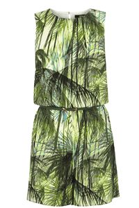 Palm Print Playsuit