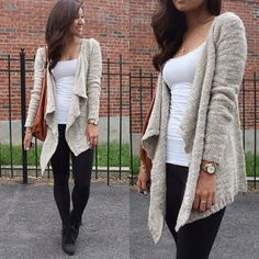 Fall fashion..love the sweater