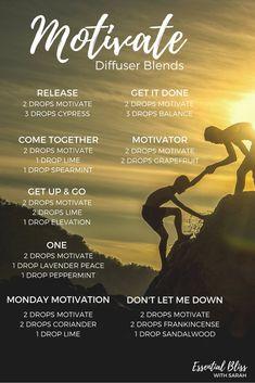 Motivate ~ Encouraging Blend | doTERRA Motivate | Diffuser Blends | doTERRA Essential Oils