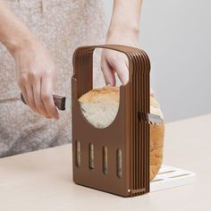 Foods Pinchot guide thickness 4-step adjustable (bread cutter slice guide kitchen tools)