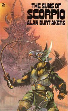 Alan Burt Akers. Savage Scorpio. | Sword and Planet Covers ...