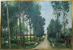 Constantine Kluge The Poplars has Fontaine-chaalis