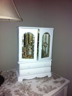 This is my jewelry box makeover