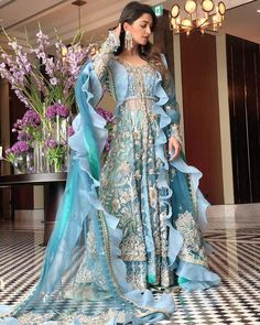 Asian Bridal Dresses, Western Wedding Dresses, Pakistani Dresses Casual, Pakistani Wedding Dresses, Pakistani Dress Design, Wedding Dresses For Sale, Bridal Outfits, Indian Dresses, Punjabi Salwar Suits