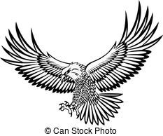 Clipart Vector of Eagle vector csp4114445 - Search Clip Art, Illustration, Drawings and Vector EPS Graphics Images