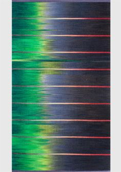 Marfa Lights - x Artist: Connie Enzmann-Forneris Textile Tapestry, Tapestry Weaving, Marfa Lights, Ikat, Ideas Para, Hand Weaving, Carpet, Colours, Rugs
