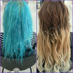 Colour transformation and Micro Bead Hair Extensions www.bundaberghairdresser.com.au