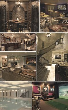 Luxury Basement Interior Designs