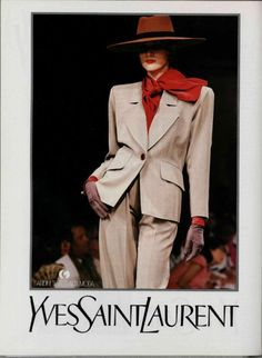 1989-90 Yves Saint Laurent Couture.