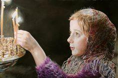 Christmas by Maria Zeldis http://insideyourart.com/artists/Maria-Zeldis (Thx Seulete)